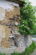 The nature reconquests the remains of an old building - Back to the nature