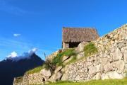 House on Macchu Picchu in Peru - Macchu Picchu