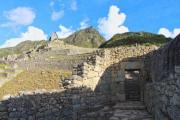 Stone gate on Macchu Picchu - Macchu Picchu