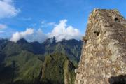 Great view on the Andes over Macchu Picchu - Andes
