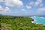 Nice clouds and beach on Comoros Island - Tropical coast