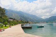 Seaside at summer in Montenegro - Beautiful coast