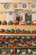 A shop with traditional handcrafted pottery - Pottery shop
