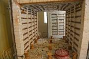 The interior of a modern pottery kiln - Pottery kiln