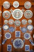 A sample collection of traditional ornaments in Corund,  Transylvania, Romania - Handcrafted pottery gifts