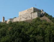 medieval monuments, Csókakő village of the tenth century settlement. - Csókakő