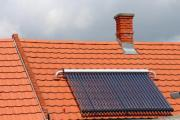 Heating system with green energy - Solar roof