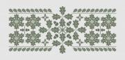 Oak leaf pattern design for many kinds of decorative purposes. The elements can be assembled to a variety of embellishments. - Oak leaf pattern