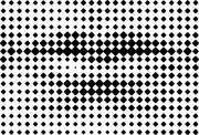 Printing grid-like graphic on transparent background.  - Human Mouth