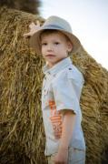 A tough little boy is showing the world how to - Roughneck