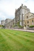The inner garden of the Windsor Castle. - Windsor Castle
