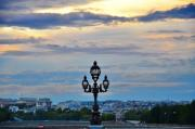 Cloudy Sky and Sunset in Paris - Sunset in Paris