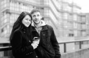 Takeaway coffee with boyfriend in the city. - Sweet Coffee