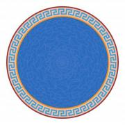 Rosette with meander pattern. Minoan style. - Rosette with meander pattern