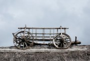 Old hay wagon on the thatch - Hay wagon