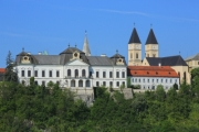 The castle of Veszprém, a Hungarian city - Castle hill