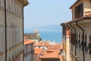 Traditional buildings and nice view in Trieste - Nice view from Trieste