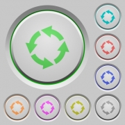 Rotate left color icons on sunk push buttons - Rotate left push buttons