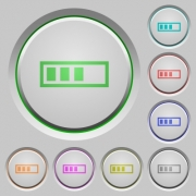 Progressbar color icons on sunk push buttons - Progressbar push buttons