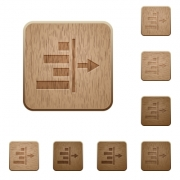 Decrease right indentation of content on rounded square carved wooden button styles - Decrease right indentation of content wooden buttons