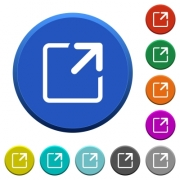 Maximize window round color beveled buttons with smooth surfaces and flat white icons - Maximize window beveled buttons - Large thumbnail