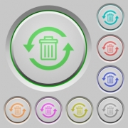 Undelete color icons on sunk push buttons - Undelete push buttons