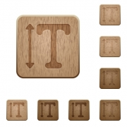 Adjust font height on rounded square carved wooden button styles - Adjust font height wooden buttons