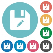 Rename file flat white icons on round color backgrounds - Rename file flat round icons