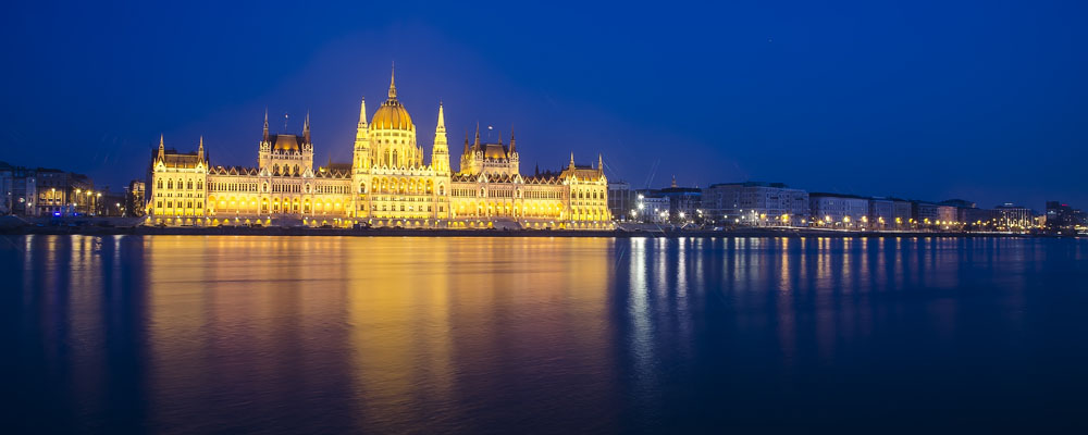 The parliament of Hungay in Budapest