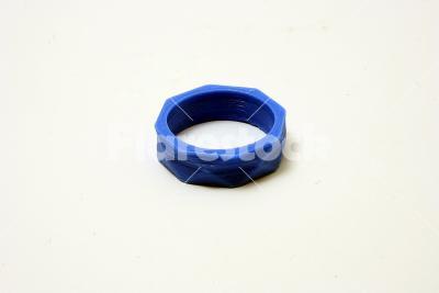 3D printed ring - 3D printed low poly ring