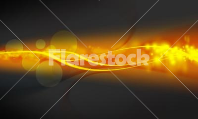 Background - Orange and grey background with circles.