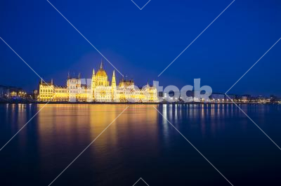 Budapest - The parliament of Hungary in Budapest
