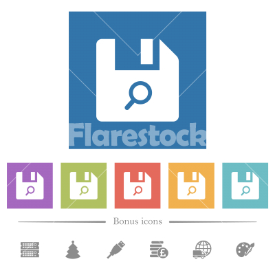Find file flat white icons in square backgrounds - Find file flat white icons in square backgrounds. 6 bonus icons included.