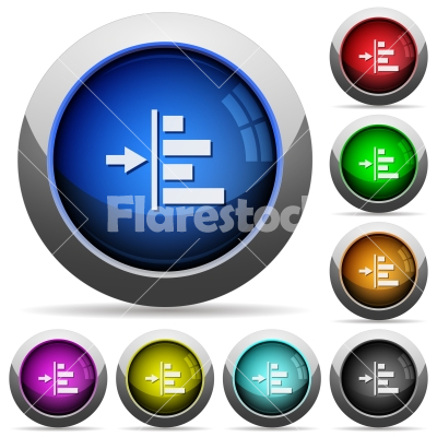 Increase left indentation of content round glossy buttons - Increase left indentation of content icons in round glossy buttons with steel frames