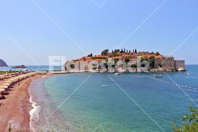 Lovely island - Small island in the mediterranean region