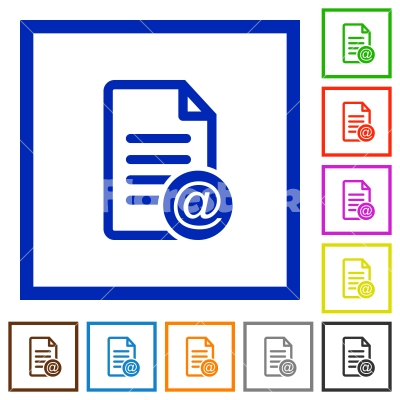 how to send a email document