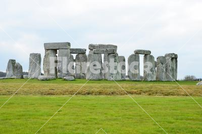 Stonehenge - The rocks of Stonehenge in England.